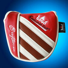 Center Shaft Mallet Putter Cover Headcover For Scotty Cameron Odyssey 2 Ball New