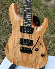 Acepro heavy e-guitarra SM 31 * Tremolo * spalted Maple top*2 humbucker
