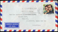 Spain 1977 Commercial Airmail Cover To England #C30415