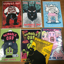 Wuvable Oaf Comic Lot Ed Luce 0 1 2 3 plus extras Gay Bear