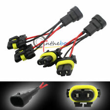 9005/9006 High Low Beam Splitter Adapter Wires For Quad/Dual Headlight Retrofit