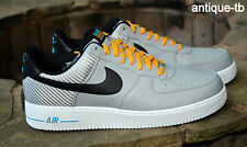 NIKE AIR FORCE 1 WASHINGTON MEN'S 14 NEW WOLF GREY BLACK 488298 014 RARE 2012