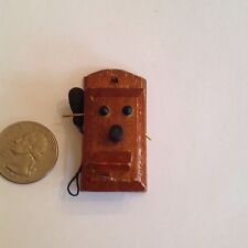 Dollhouse miniatures Old Fashioned Wall Phone
