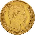 [#480453] France, Napoléon III, 5 Francs, 1857, Paris, TB, Or, KM:787.1