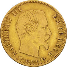 [#480453] France, Napoléon III, 5 Francs, 1857, Paris, TB, Or, KM:787.1