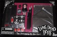 Living Dead Dolls Stationery set~Goth~Horror~School Time Sadie~Great Gift! NIB