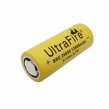26650 Battery 12800mAh 3.7V Li-ion Rechargeable Batería Flat Top for Herramienta