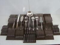 mod: GRAND PRIX MENAGERE DE 153 pièces en métal argenté - état brillant