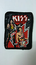 Kiss Gene Ace group artist RARE vintage Sew On patch music