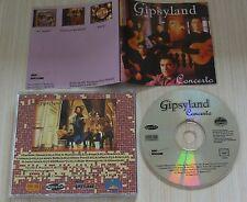 RARE CD ALBUM GIPSYLAND CONCERTO 13 TITRES
