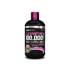 L-Carnitin Liquid 100.000 von BioTech USA Hoch Dosiert für Diät + Bonus