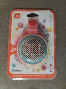 New JBL JR POP Kids Bluetooth Portable Speaker System - Pink Free USA shipping