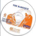 The Baroque PC & MAC CD (Fogware children learn fun education school study)