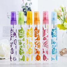 6Pcs Rose Crystal Cut Glass Perfume Spray Bottles Refillable Empty 10ml