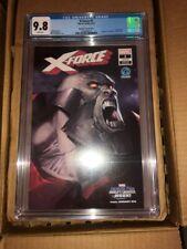 X-Force (Volume 5) #1 CGC 9.8 Marko Djurdjevic variant Fantatic Four villains