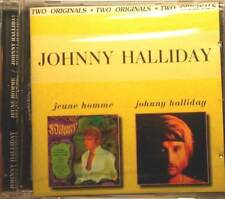 """JOHNNY HALLYDAY""""Jeune Homme / Johnny Halliday"""" CD SEALED OUT of PRINT"""