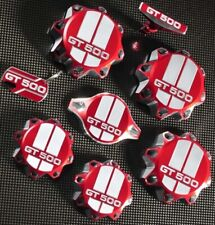 Ford Mustang Shelby GT500 5.4L  /  5.8L  Engine Cap Set Aluminum Red