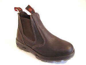 Australische Redback Boots Stiefelletten Arbeitsstiefel Reitstiefeln UBOK Braun