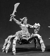 Isiri Arachnid Warrior Darkspawn Reaper Miniatures Warlord Demon Spider Fighter