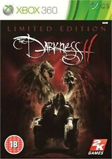The Darkness II 2 3D Lenticular Sleeve Limited Xbox 360 * NEW SEALED PAL *