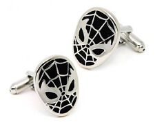 Spiderman Cufflinks - Groomsmen Gift - Men's Jewelry - Gift Box