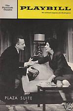 Playbill - Plaza Suite - April 1968 - George C. Scott