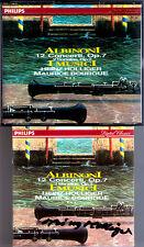 Heinz HOLLIGER Signiert ALBINONI 12 Concertos Op.7 2CD Klaus THUNEMANN IMUSICI