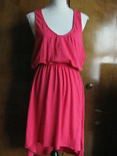 Alternative women's red assymetric pima cotton dress Size XLarge NWT