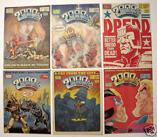 JUDGE DREDD 2000 AD Mags #530-658 Make Your Own Lot (3)