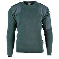 Genuine Spanish army pullover Commando Jumper Spain Military sweater NEW