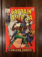 Captain America 118 2nd Appearance FALCON RED SKULL VF? BEAUTIFUL COPY CGC this