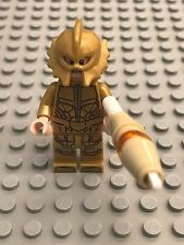New Lego Battle of Atlantis - Atlantean Guard (Scared) Minifig with weapon 76085