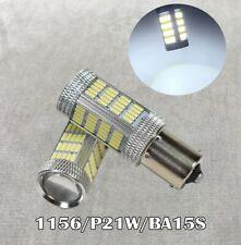 Front Signal Light 1156 BA15S 3497 1141 7506 P21W 92 LED Bulb White W1 JAE
