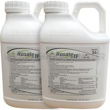 Rosate 360 TF 2 x 5 Litre Strong Glyphosate Professional Garden Weedkiller