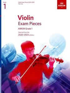 ABRSM Violin exam pieces 2020 - 2023 Part only Grade 1