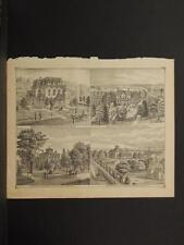 New York, Chautauqua County Engraving, 1881 Laona, Fredonia N6#48