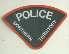OBSOLETE NORTHERN TERRITORY CANVAS POLICE PATCH not BADGE