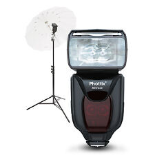 Phottix Mitros+ TTL Transceiver Flash Portable Portrait Kit for Nikon