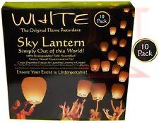 Sky Lanterns from Wishlantern®. Pack of 10 Wish Lanterns (Individually Wrapped).