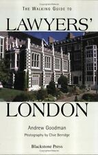 A Walking Guide to Lawyers' London by Andrew Goodman (2002, Hardcover)