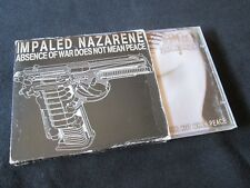 IMPALED NAZARENE Absence Of War Does Not Mean Peace CD SLIPCASE BLACK METAL