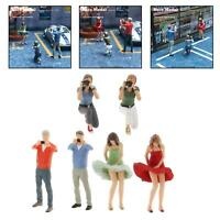 1:64 Scale Painted Model People Figures Men Model Layout Accessory S Scale