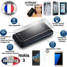 Protection d'Ecran en Verre Trempé Contre les Chocs pour Nokia 3