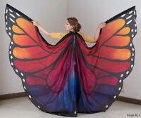 Silk Isis Belly Dance Wings Carnivals Festivals 100% Silk Design#1