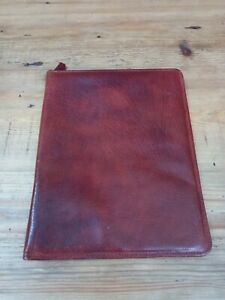 MONTANA LEATHER STATIONARY WRITING CASE BY LEATHERSMITH MADE IN ENGLAND