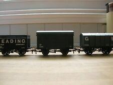 3 GW Themed Wagons: Bachmann GW Box Van + Reading Coke & Dapol Iron Mink Unboxed