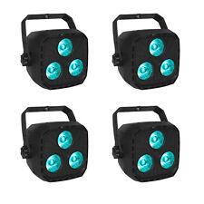 4 x Wedding Wall Washer Par Uplighting RGBW Led DMX DJ Stage Light Sound Control