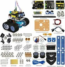 Keyestudio Bluetooth Mini Tank Robot Smart Car Kit Aluminum Frame for Arduino