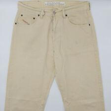 Diesel Cheyenne W34 L32 beige Herren Men Designer Denim Jeans Hose Vintage Retro