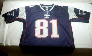 Randy Moss New England Patriots #81 Reebok NFL Jersey Sz. XXL - New with Tags
